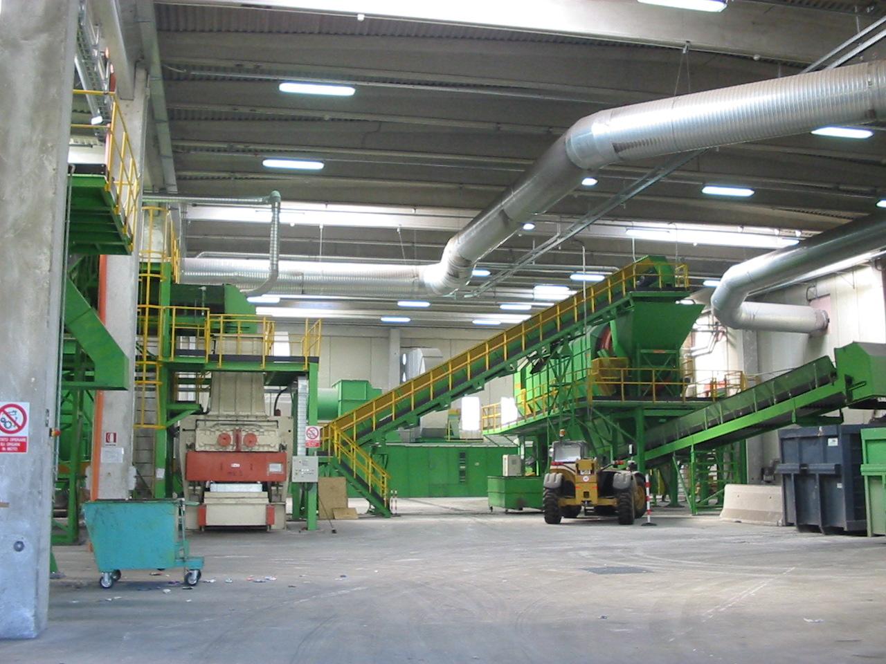 Impianto compostaggio
