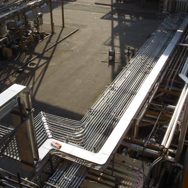 Installazione di tubi Classe IIC